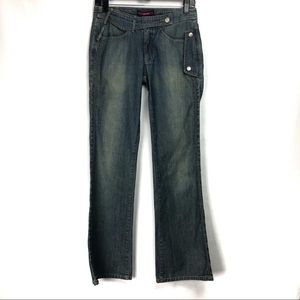 BCBG- BCBGMaxAzria Plain Back Denim Jeans